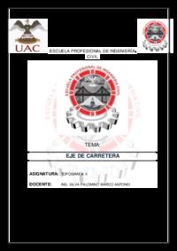 Informe de eje de carretera.docx