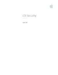 Ios 10 security white paper  pdf
