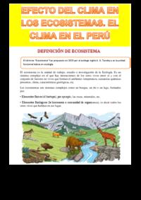 Efecto del clima en los ecosistemas el clima en el per  copia